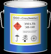Эмаль ЭП-140 серая (1кг)