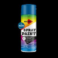Спрей-краска AIM-ONE синяя 450мл