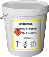 Шпатлевка масляно-клеевая «ETALON-002»